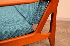 Model 6 Teak Lounge Chairs by Arne Vodder for Vamo, Set of 2 8