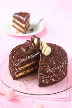 Verdade de sabor: gâteau d'anniversaire blog / Bolo para o Aniversário faire le blog