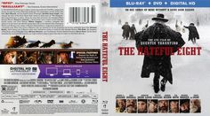 The Hateful Eight Blu-ray Scanned Cover