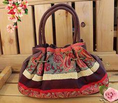 Handmade retro bagShoulder bag by WinnieNora on Etsy, $42.00