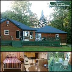 Start planning ahead for a fall get-together on Pleasant Lake! Hackensack Family Reunion Cabin offers comfortable accommodations for 18 guests — and your pets! See more images:   #bookdirect #reunion #travelmn #lakehouse #pleasantlake