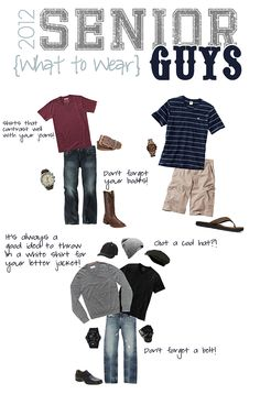 Owens Originals Photography: 2012 Seniors: What to Wear