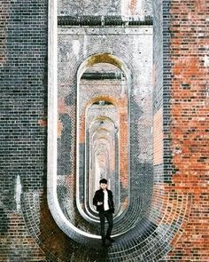 Ouse Valley railway viaduct at Balcombe, Haywards Heath - East Sussex.
