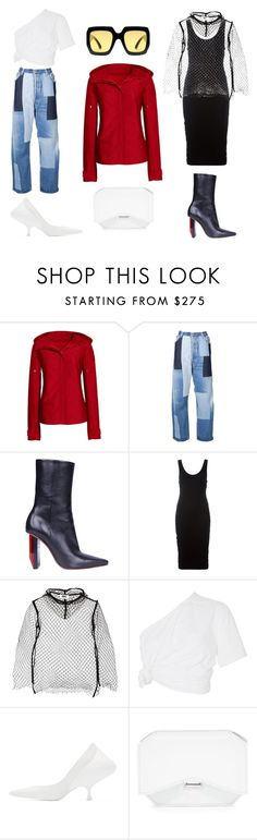 """""""Paint Your Look With Canvas by Lands' End: Contest Entry"""" by esposito-alicya on Polyvore featuring Canvas by Lands' End, Off-White, Vetements, Alexander Wang, MM6 Maison Margiela, Rosie Assoulin, Maison Margiela, Givenchy and Gucci"""
