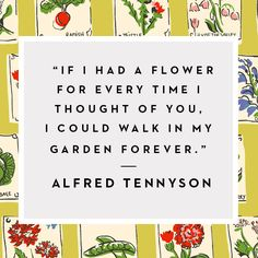 A fabulously floral thought, courtesy of Alfred Tennyson. #Boden #BloomMonday