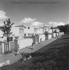 1970 photos of Central Hill Estate - designed and loved by Ted Hollamby - soon may be demolished