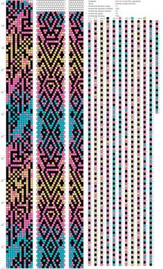 Bead Crochet Patterns, Peyote Stitch Patterns, Beaded Crochet, Bead Crochet Rope, Beading Patterns, Beaded Crafts, Crochet World, Brick Stitch, Loom Beading