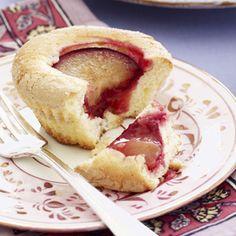 Individual Plum Pound Cakes - Easy Dessert Recipes - Good Housekeeping