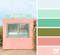 Hut Hues via @designseeds