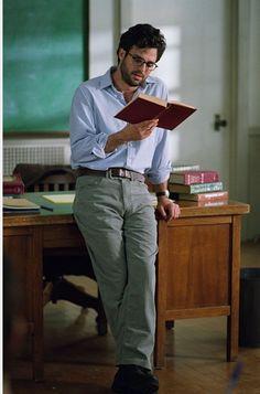 Mark Ruffalo. As a sexy teacher. Mmhm. omnomnomnom