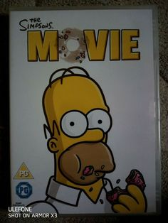 The Simpsons Movie [NEW / SEALED] 2007 The Simpsons Movie, Dvds For Sale, Bart Simpson, Seal, Movies, Films, Harbor Seal, Cinema, Film Books