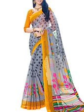 Cotton Sarees - Buy Designer Silk Cotton Sarees Online in India
