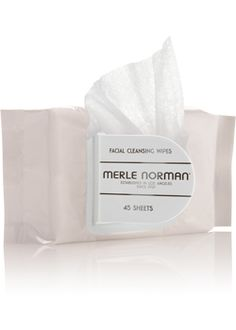 Facial Cleansing Wipes- For all skin types.   Moist, oversized cleansing towelettes gently remove makeup and refresh your skin in a few quick strokes. Perfect for travel. Alcohol-free. Fragrance-free. Oil-free.