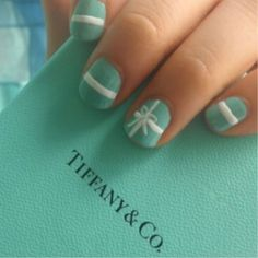 @Kala Wangsness Storbeck and @Jenna Nelson Storbeck    Kala for your bridal shower :)  Tiffany Nails