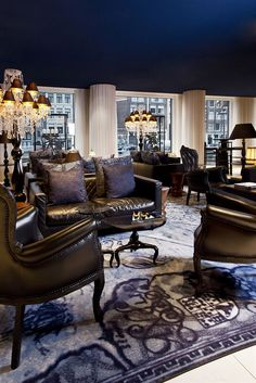 Hotel Bar at Andaz Amsterdam Prinsengracht,  Amsterdam, Netherlands