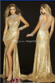 Gold Dresses For Women   rucetk