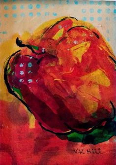Red Pepper- Etsy.com/shop/artbyValya