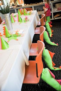 Mallard Cove Mommy: Girly Dinosaur Party