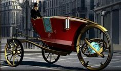 Steampunk Hansom Cab From longwayhomeblog.com - This is so cool!