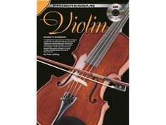 Progressive Violin Book & CD - BC Wholesalers. Progressive Violin contains all you need to know to start learning to be a great violin player - in one easy-to-follow, lesson-by-lesson violin tutorial. Suitable for all ages and all types of violin. No prior knowledge of how to read music or playing the violin is required to teach yourself to learn to play violin from this book.