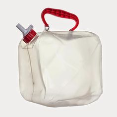 RELIANCE FOLD A CARRIER 2.5 GAL.   - The Fold-A-Carrier is a durable collapsible water container that is made from high-grade polyethylene. Even in extremely cold temperatures the Fold-A-Carrier remains flexible. The spigot design offers an integrated on/off feature and is completely leak-proof. The comfortable handle is attached via two sturdy metal clips and folds down, making the Fold-A-Carrier even more compact.