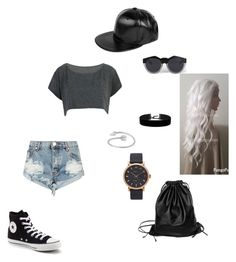 """""""street style"""" by angie-9600 on Polyvore featuring moda, Marc Jacobs, Xenab Lone, Midsummer Star, Converse, One Teaspoon, Boohoo i Le Specs"""