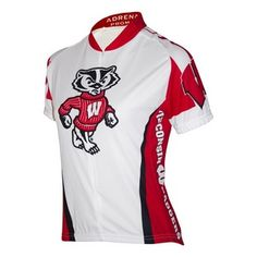 Women`s Wisconsin Badgers Cycling Jersey $79.99