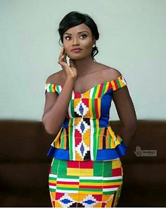 This post can show you the most recent kente designs 2019 has future for you. we have collected the best 77 styles of Latest Kente Designs For Ghanaian Wedding 2019 from African styles attires. Latest African Fashion Dresses, African Print Dresses, African Print Fashion, African Wear, African Attire, African Women, African Dress, African Prints, Bagan