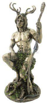 Amazon.com: Herne the Hunter Sculpture - Celtic Mythology - Ships Immediatly: Home & Kitchen