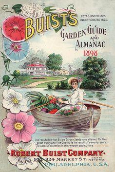 Buist's 1898 vintage seed packet