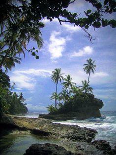Puerto Viejo, Costa Rica.  // Premium Canvas Prints & Posters // www.palaceprints.com