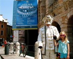 Italy with kids means educational fun like the opera in Verona!