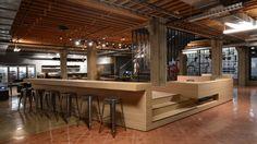 Heavybit Industries / IwamotoScott Architecture / Reception and bar.
