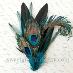 For the boutonniere, but add the blue and purple orchid that I love.