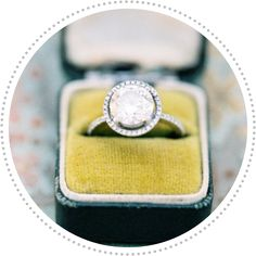 Ive been obsessed with oval stones lately but THIS is so beautiful. Right now I love both rounds and ovals. Only critera is a halo and an ultra skinny band Wedding Beauty, Dream Wedding, Wedding Day, Wedding Things, Wedding Blog, Wedding Stuff, Round Halo Engagement Rings, Wedding Engagement, Fantasy Wedding