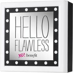 Benefit Cosmetics Benefit Hello Flawless! Powder Foundation ($44) ❤ liked on Polyvore featuring beauty products, makeup, face makeup, foundation, benefit foundation and powder foundation