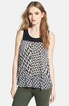 Ella Moss Print Tank available at #Nordstrom