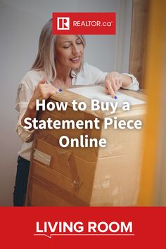 Looking for that one statement piece that will tie your room together? Look online. Retailers are making it even easier and to find vintage treasures with the click of a button.. Find out how to start your search with these tips on REALTOR.ca Living Room.  #onlineshopping #vintageshopping #vintagefurniture #homedecor #vintagedecor #statementdecor #statementpiece #artbuying