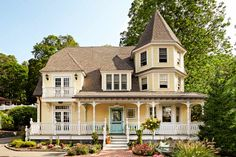 Paint, new porch details and plantings perk up an 1895 Victorian. | Photo: Julian Wass | thisoldhouse.com