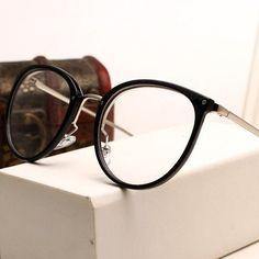 Vintage Decoration Optical Eyeglasses Frame myopia round metal men women  unisex spectacles. Oculos De Grau ... 7fcd197750