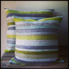 Mohair cushions