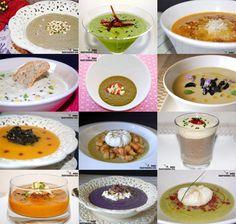 Doce recetas de crema de verduras
