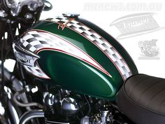 green triumph motorcycle - Google Search