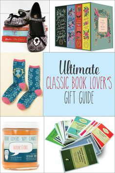 Classic Book Lovers Gift Guide -