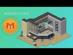 Tuto habbo cuisine moderne cuisine habbo moderne for Casa moderna haddoz