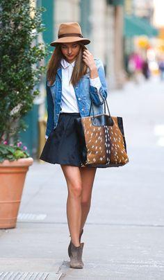 Miranda Kerr, second favorite super model after CARA ♥