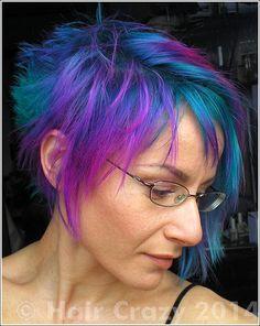 tigrazza - - Alpine Green - Atlantic Blue - Flamingo Pink - Turquoise - Uv Green - Violet