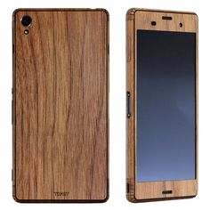 The Xtreme Xperia Z. A real wood, hand crafted cover by Toast.
