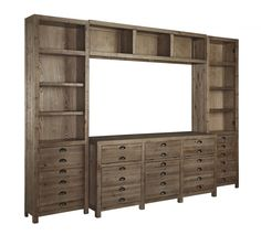 Keeblen 4 Piece Entertainment Center