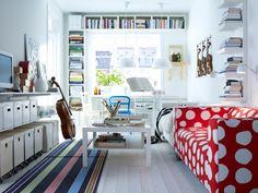 Schmale Räume einrichten ist eine Herausforderung! Mit durchdachten Lösungen wird die Not hier zur Tugend!